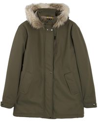 Roamers & Seekers | Precision Military Olive Quilted Parka | Lyst