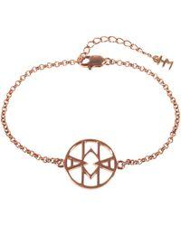Hoochie Mama - Mama Rose Gold Bracelet - Lyst