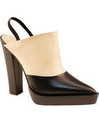 Juliana Herc - Black & Nude Platform Shoes - Lyst