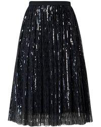 Rumour London - Fairy Midi Sequined Skirt In Black - Lyst