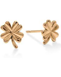 Enelle - Clover Earrings - Lyst