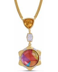 LMJ - Girl On Fire Necklace - Lyst