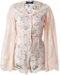 Supersweet x Moumi - Piano Playsuit - Lyst