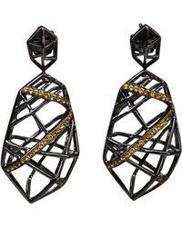 Bellus Domina - Lemon Citrine Hexa Earrings - Lyst