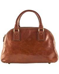 Maxwell Scott Bags - Luxury Italian Leather Women's Bowling Bag Liliana S Chestnut Tan - Lyst