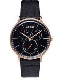 ADEXE Watches - They Grande Black & Rosegold - Lyst