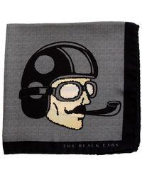The Black Ears - The Grey Dapper Man Silk Pocket Square - Lyst