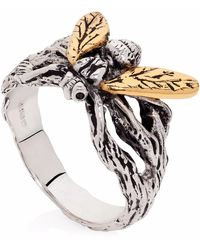 Yasmin Everley - Gilded Hoverfly Ring - Lyst