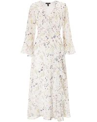 Baukjen - Jasmine Dress In Soft White Meadow Floral - Lyst