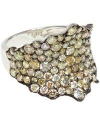 Ri Noor - Fancy Yellow Diamond Ring - Lyst
