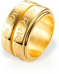 Ona Chan Jewelry - Double Spinning Mantra Ring - Lyst