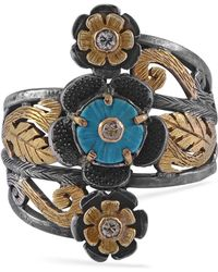 Emma Chapman Jewels - Turquoise Diamond Carlotta Ring - Lyst