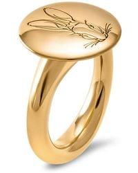 Hargreaves Stockholm | Bracteate Gold Signet Ring | Lyst