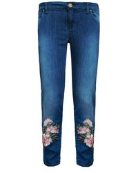 My Pair Of Jeans Pink Flower Boyfriend
