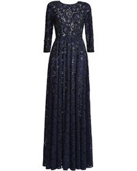 MATSOUR'I - Pauline Lace Dress With Bead Embroidery - Lyst