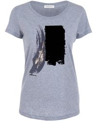 URBAN GILT - Maltby Grey T-shirt - Lyst