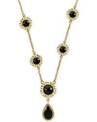 Vintouch Italy - Taormina Onyx Necklace - Lyst