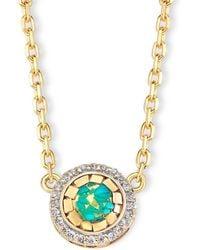 Elham & Issa Jewellery - Mystique Diamond Necklace - Lyst