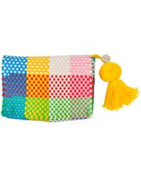 Soi 55 Lifestyle - Cheche Travel Pouch Rainbow Check - Lyst