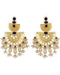 Carousel Jewels - Statement Heritage Earrings - Lyst
