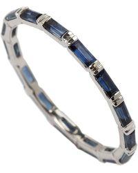 Joana Salazar - Calendar Eternity Blue Sapphire Ring - Lyst
