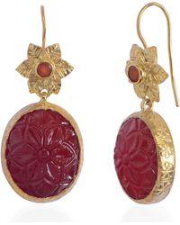 Emma Chapman Jewels - Bodhi Carnelian Earrings - Lyst