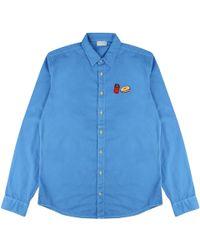 McIndoe Design | Blue Denim Fast Food Shirt | Lyst