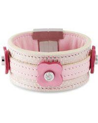 Tissuville - Say Bonjour Bracelet Pink - Lyst