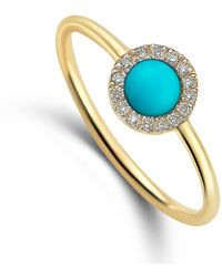 Elham & Issa Jewellery - Awe Circle Diamond Ring - Lyst