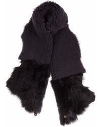 Gushlow and Cole - Graphite Gilet Scarf - Lyst
