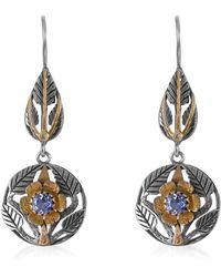 Emma Chapman Jewels - Beauty Blue Sapphire Diamond Earrings - Lyst