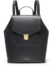 Thacker NYC - Frankie Backpack In Black & Gold - Lyst