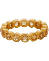 Carousel Jewels - Citrine Gemstone Band - Lyst