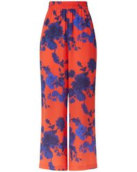 Klements - Pluto Pants In Gothic Floral Print - Lyst