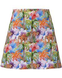 My Pair Of Jeans Jungle Mini Skirt - Multicolour