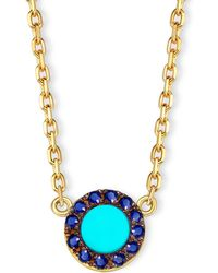 Elham & Issa Jewellery - Awe Sapphire Necklace - Lyst