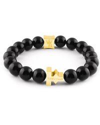 Tissuville - Labyrinth Bracelet Gold Men - Lyst