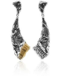 Katarina Cudic - Elongated New Byzantium Earrings - Lyst