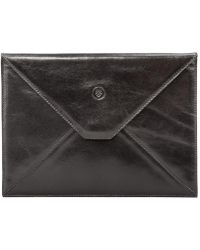 Maxwell Scott Bags - Luxury Black Leather Ipad Mini Case The Pico - Lyst
