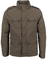 lords of harlech - Sergeant Jacket In Olive - Lyst
