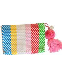 Soi 55 Lifestyle - Cheche Travel Pouch Rainbow Stripe - Lyst