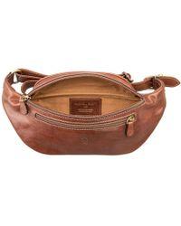 Maxwell Scott Bags - Luxury Leather Chestnut Tan Bum Bag Centolla - Lyst