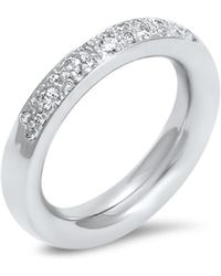 Hargreaves Stockholm - Commitment A White Gold & Diamond Eternity Ring - Lyst