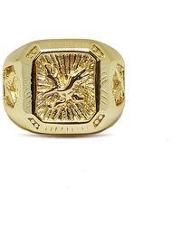 Serge Denimes - Gold Eagle Ring - Lyst