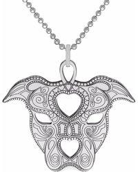 CarterGore - Silver Staffy Pendant Necklace Medium - Lyst