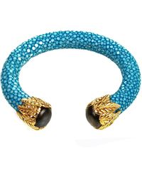 LÁTELITA London - Stingray Bangle Ocean Blue With Labradorite - Lyst