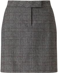 Baukjen - Mallory Checkered Skirt - Lyst