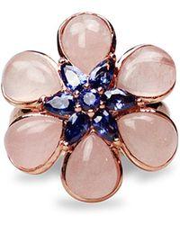 Bellus Domina - Amare Flower Ring - Lyst