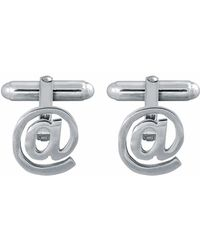 Edge Only - At Symbol Cufflinks - Lyst