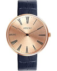 ADEXE Watches | Sistine Grande Black & Rosegold | Lyst